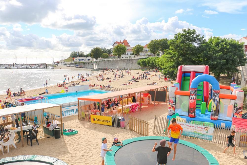 Rochefort ocean fouras plage sud club enfants1