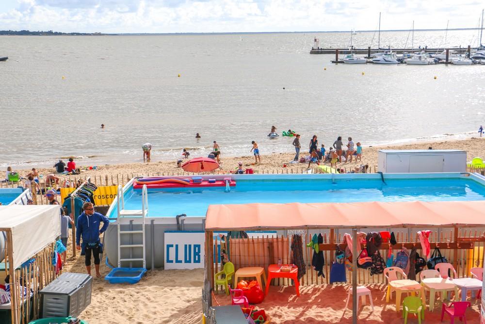 Rochefort ocean fouras plage sud club enfants5